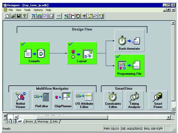 Figura 5: l'interfaccia utente di Designer.