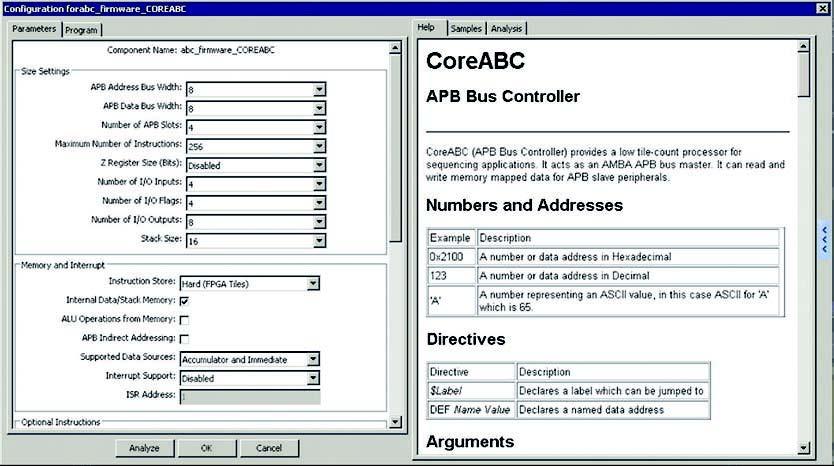 Figura 2: la pagina di configurazione del micro.