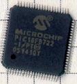 Figura 4: microcontrollore serie 18F8722 prodotto da Microchip.
