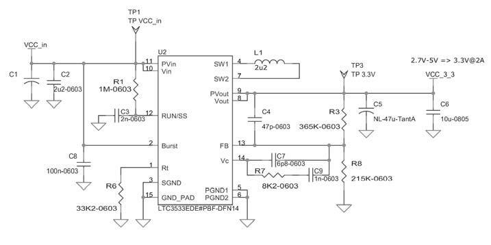Figura 4: il regolatore di tensione.