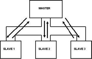 Figura 4: rete con master singolo.