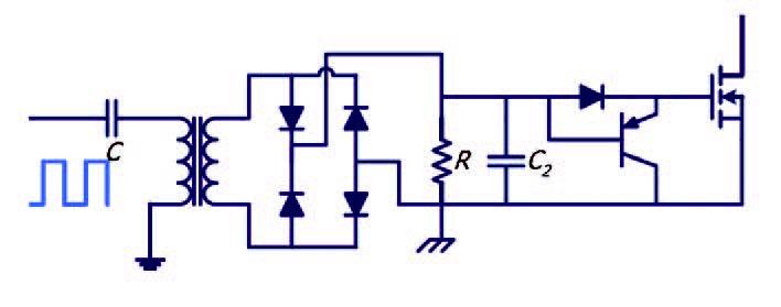 Figura 3: schema di principio di trasformatore modulato.