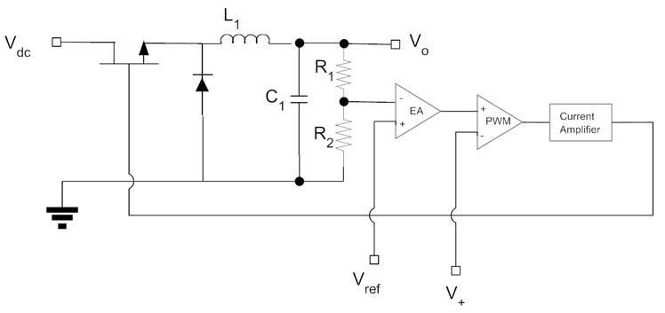 Figura 1: schema di un convertitore buck.