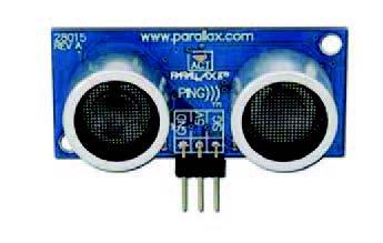 Figura 8: un modello di sensore di prossimità ultrasonico.