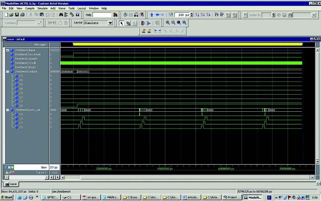 Figura 3: simulazione del progetto.