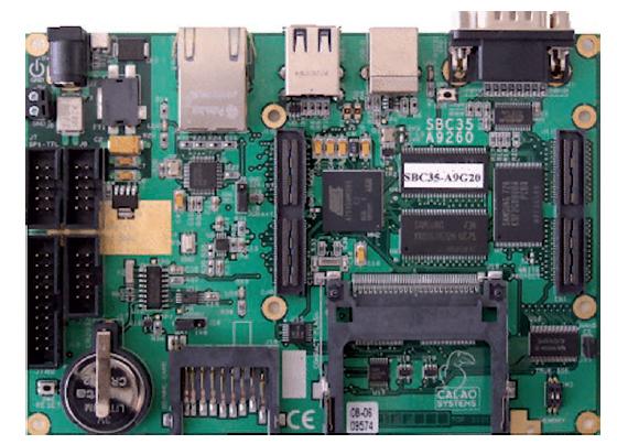 Figura 1: un embedded computer di Calao.