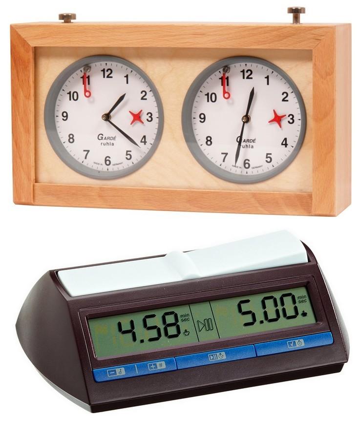 Figura 1: un modello di orologio di tipo meccanico (sopra) e uno di tipo elettronico (sotto)