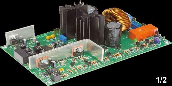 Schemi Elettrici Hi Fi : Amplificatore in classe d ad alte prestazioni il progetto