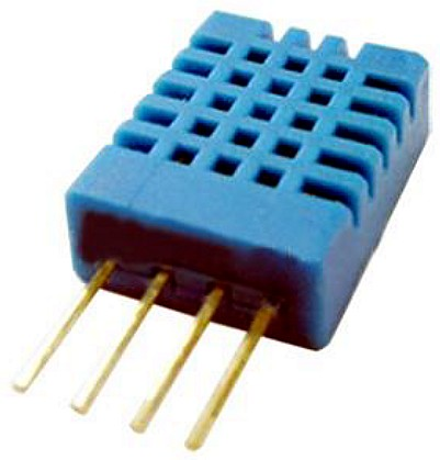 Figura 1: il sensore di temperatura e di umidità DHT11