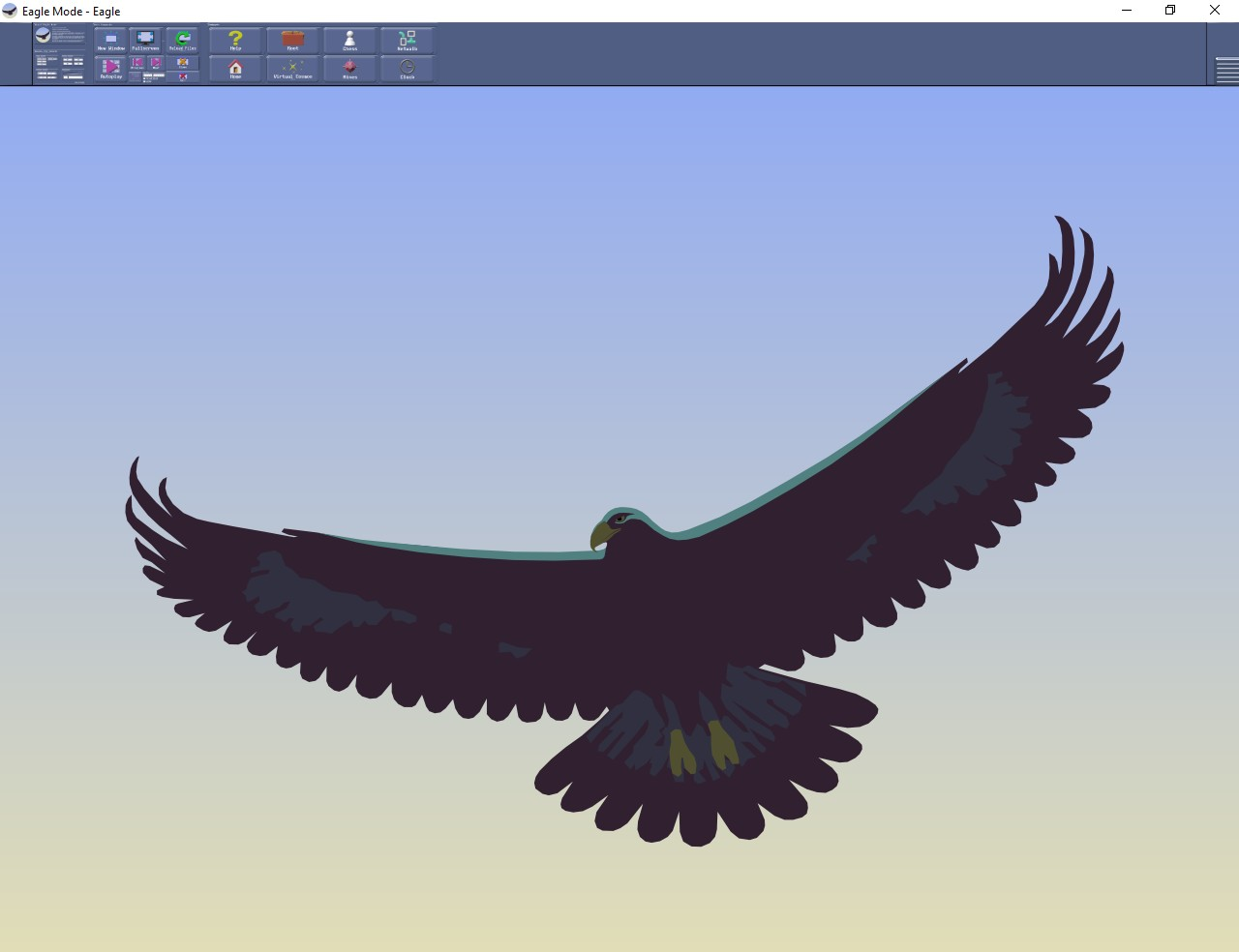 Figura 1: la videata principale di Eagle Mode