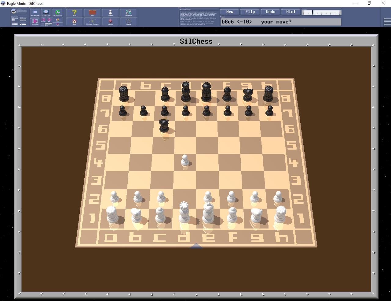 Figura 7: il gioco degli Scacchi con Eagle Mode