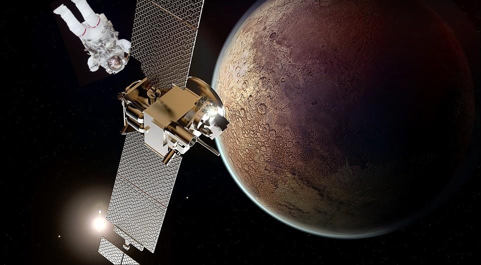 Figura 3: una possibile missione su Marte