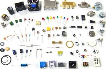 Figura 1: una piccola collezione di componenti elettronici