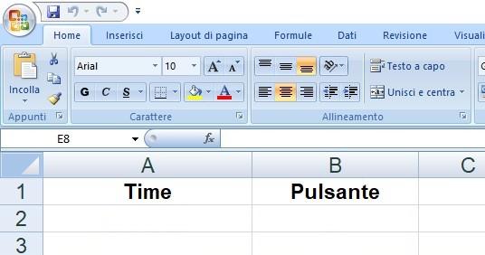 Figura 6: il comando LABEL consente di personalizzare le intestazioni delle colonne