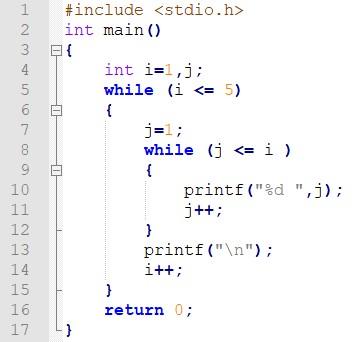 Figura 1: l'indentazione grafica di Notepad++