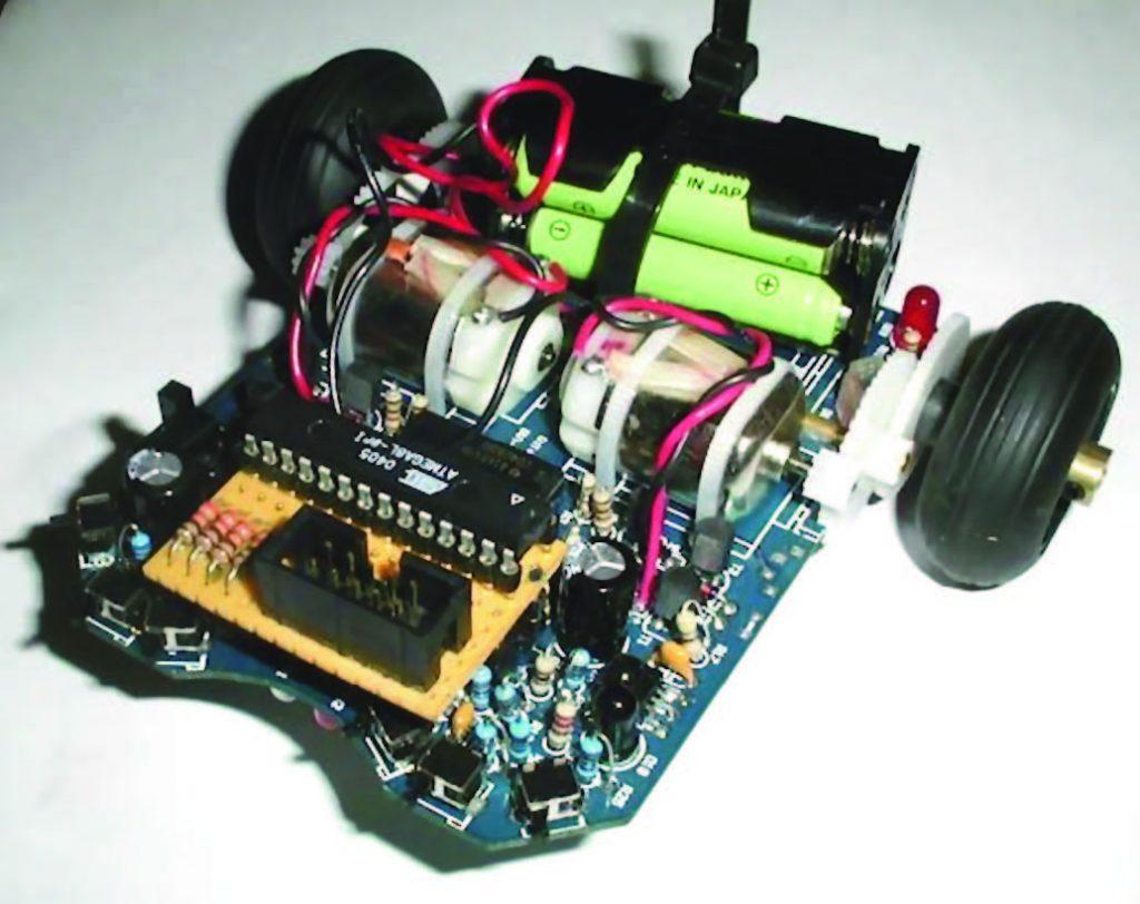 Figura 2: Asuro Robot.