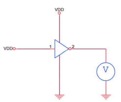 Figura 4: esempio elementare di Test di Continuità utilizzando la risposta funzionale del circuito.