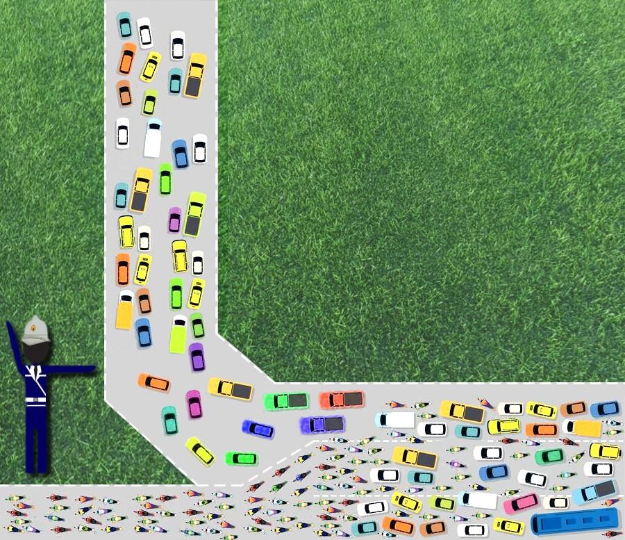 Figura 1: il filtro è come un vigile urbano: lascia passare (o bloccare) solo un determinato tipo di veicolo