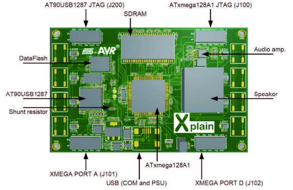 Figura 3: layout della scheda Xplain.