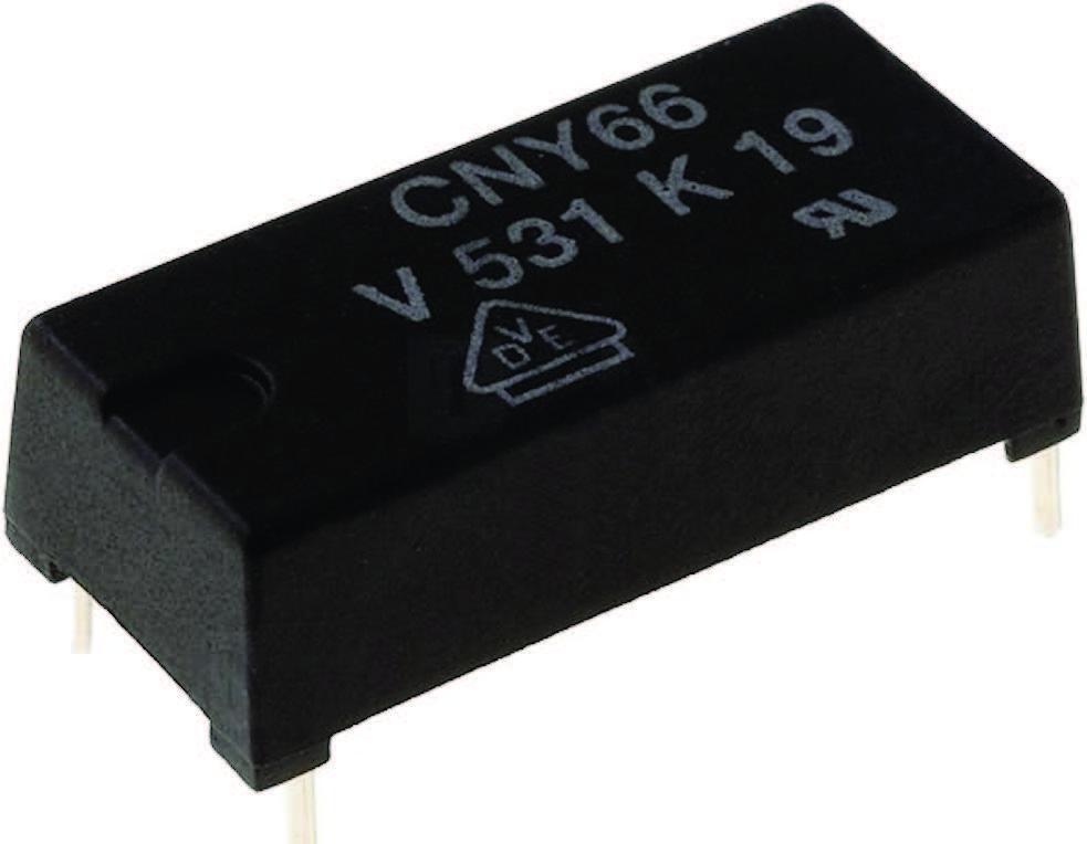 Figura 3: optoisolatore ad elevata tensione di isolamento (Vishay CNY66).