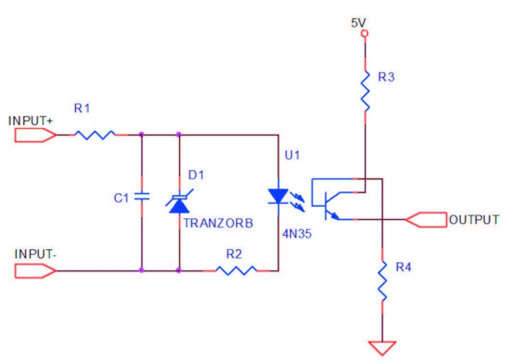Figura 1: schema elettrico.