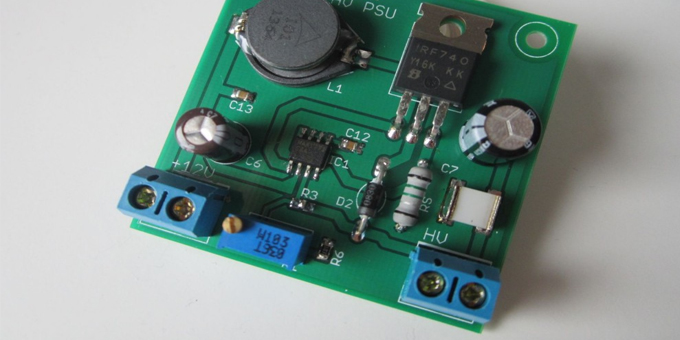 Schema Elettrico Elevatore Di Tensione : Note applicative sulla progettazione di alimentatori switching