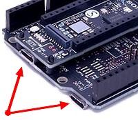 Figura 4: per alimentare il sistema è sufficiente utilizzare uno dei connettori micro USB
