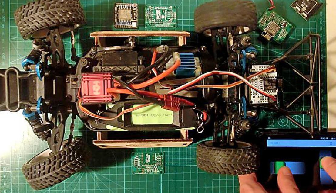 Figura 6: un robot più sofisticato realizzato dagli studenti
