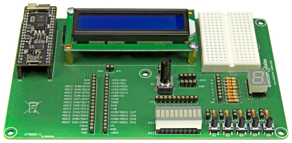 Figura 2: la scheda ESP32 Pico Discovery