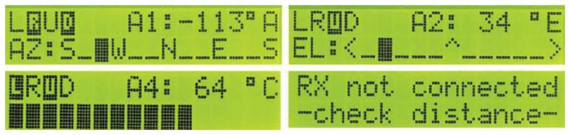 Figura 6: caratteri personalizzati per usi vari