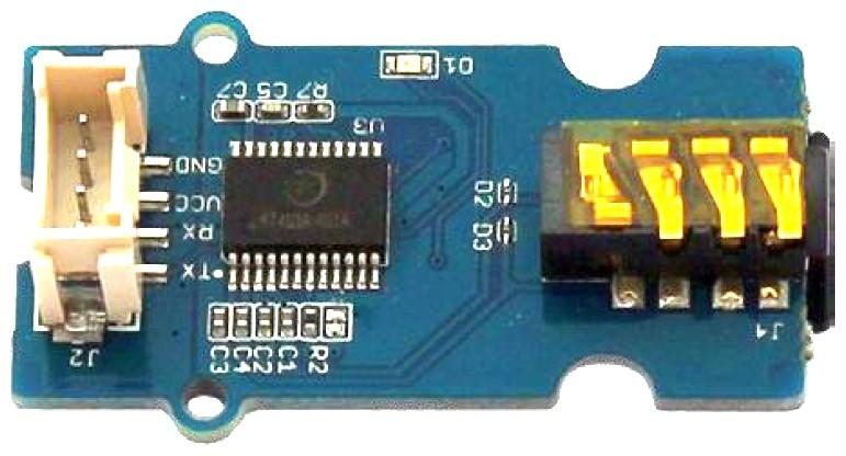 Figura 3: è possibile collegare un modulo lettore MP3 per migliorare la qualità complessiva del suono e riprodurre suoni personalizzati