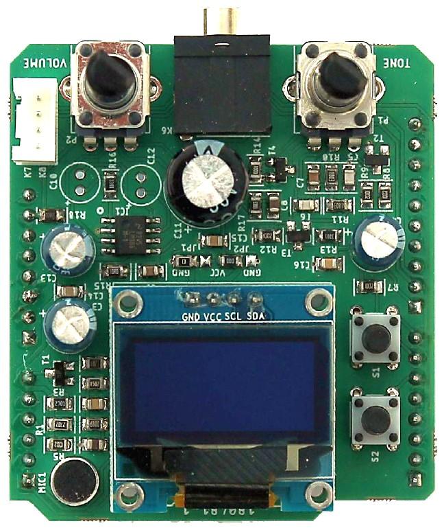 Figura 1: la shield anti russamento è compatibile con Arduino Uno