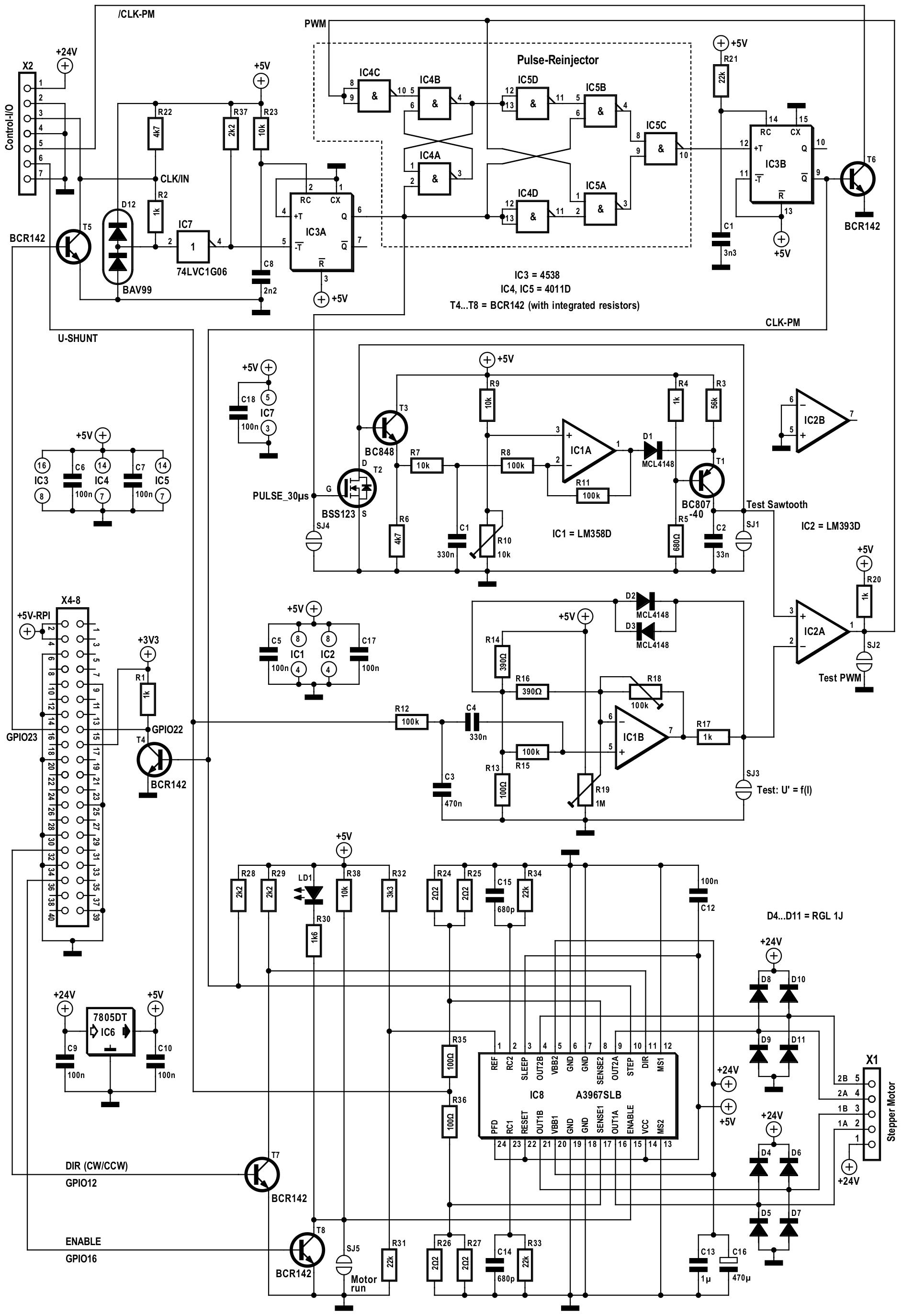Figura 6: il circuito anti-risonanza implementato come RPi-HAT.