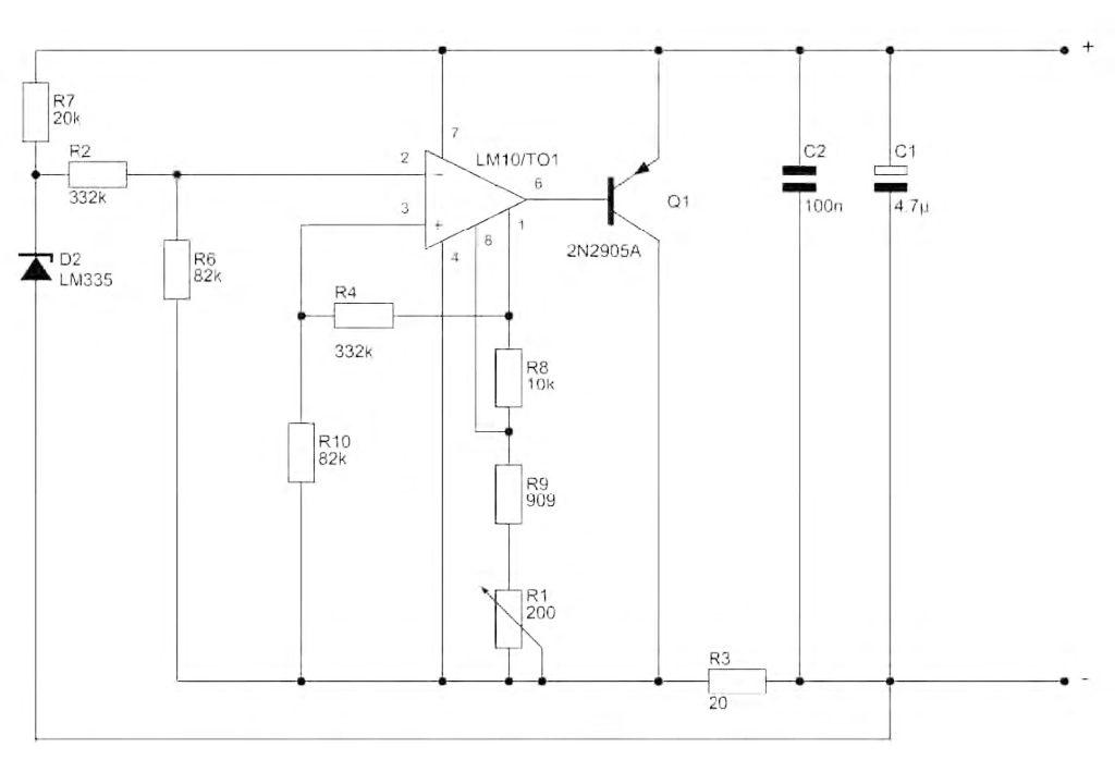 Figura 2: sensore di temperatura con trasmissione 4-20mA.
