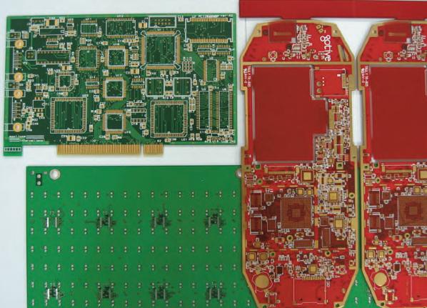 Figura 1: circuiti stampati in FR4.