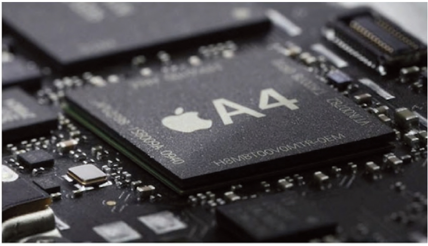 Figura 2: il system-on-chip Apple A4.