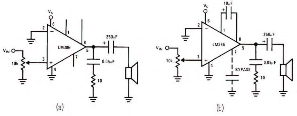Figura 3: amplificare l'uscita del SOMO- 14D con l'LM386.