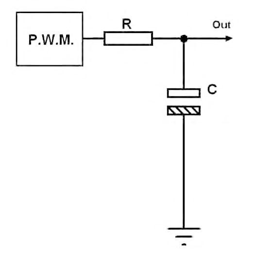 Figura 8: il filtro d'uscita.