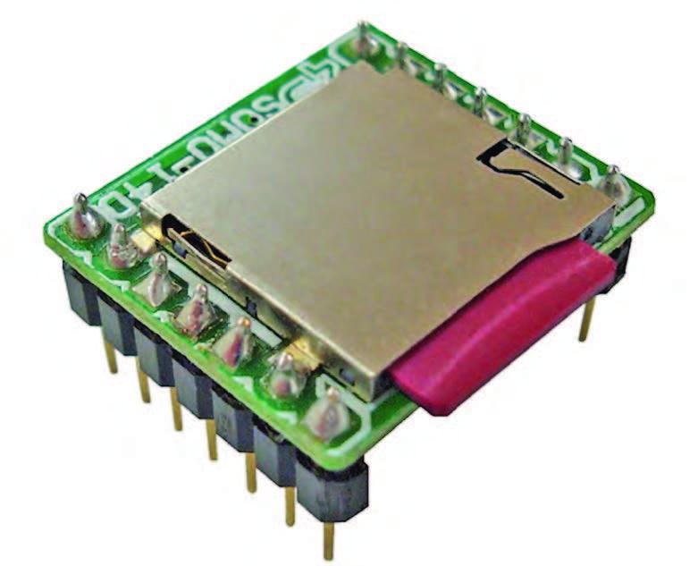 Figura 1: il player audio SOMO-14D.