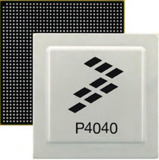Figura 1: il processore QorlQ P4040.