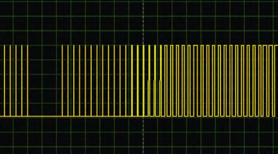 Figura 15: senza il filtro d'uscita l'onda sinusoidale non sarebbe stata prodotta.