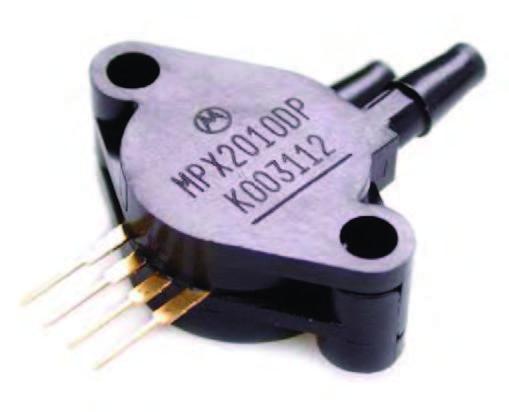Figura 3: un sensore della famiglia MPX2010.