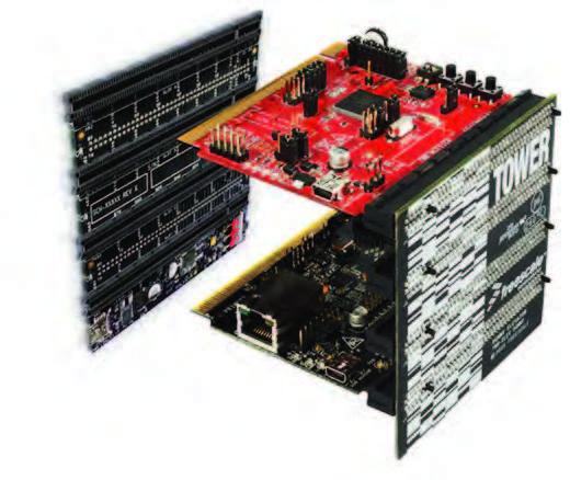 Figura 2: la scheda CPU MCF51MM256.