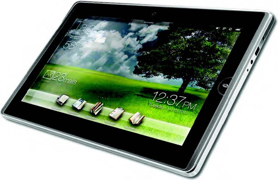 Figura 2: Windows Embedded Compact 7 su un tablet Asus.