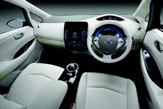 Figura 6: il sistema Nissan Leaf
