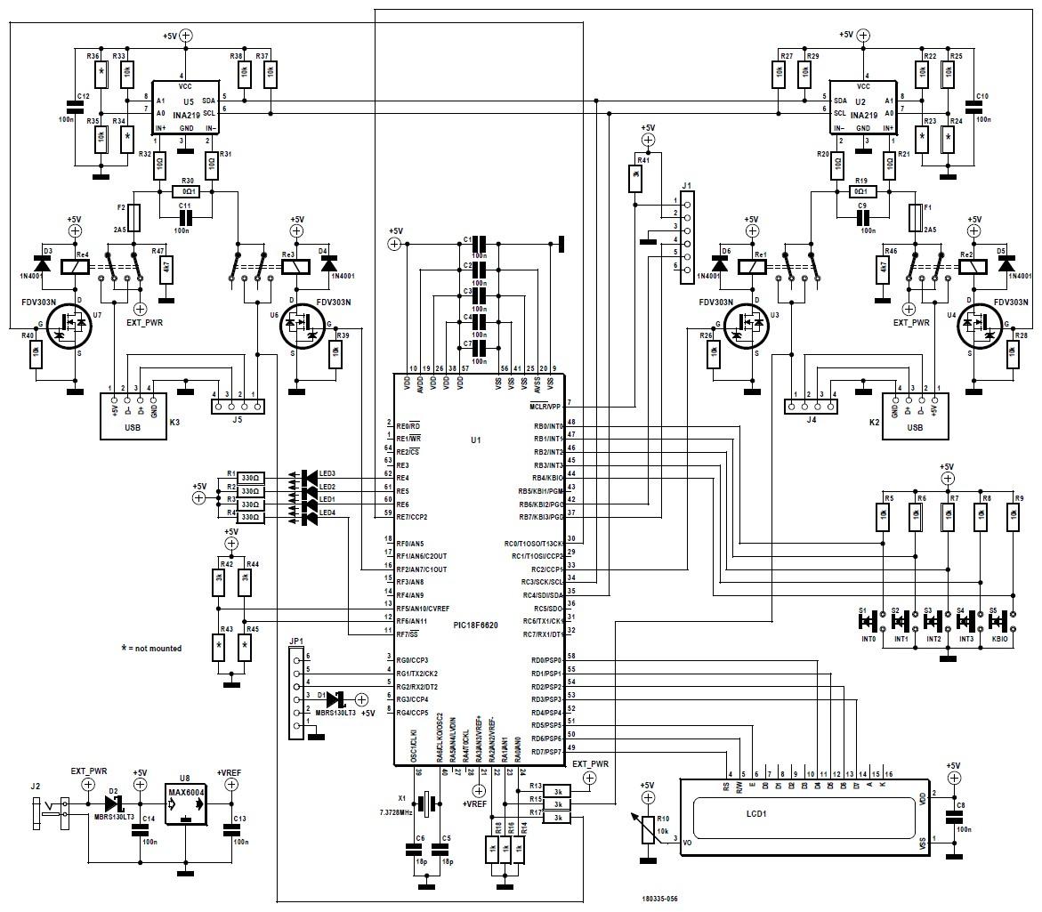 Figura 2: lo schema elettrico della versione finale