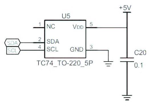 Figura 6: sensore di temperatura.