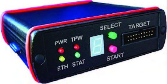 Figura 1: PEEDI, che fornisce anche funzionalità di Flash programmer, anche su memorie NAND.