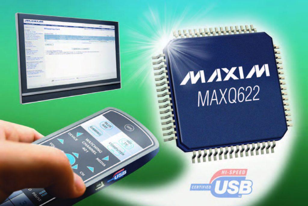 Figura 1: la famiglia MAXQ di micro con connettività IR.