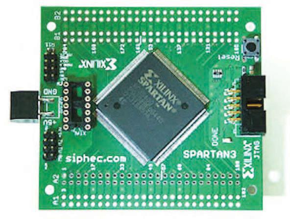 Figura 5: uno Spartan XC3S200.
